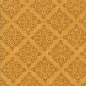 Moda - Bee Joyful - 6510 - Damask Style Bee Hives on Gold - 19878 13 - Cotton Fabric